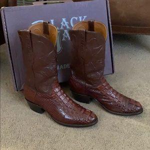 Black Jack Alligator Boots